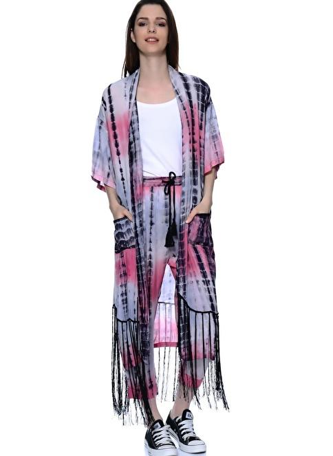 Little White Lies Kimono Renkli